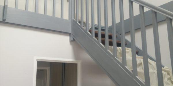 Peinture escalier Steph Deco Orleans - 1