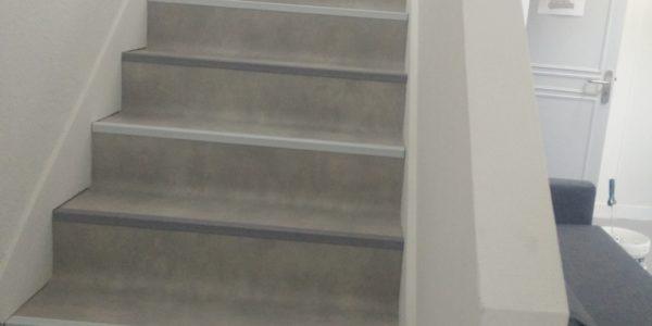 Peinture escalier Steph Deco Orleans - 2