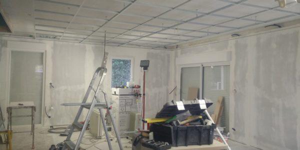 Creation faux plafond par Steph Deco Orleans - 2