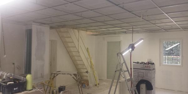 Creation faux plafond par Steph Deco Orleans - 3