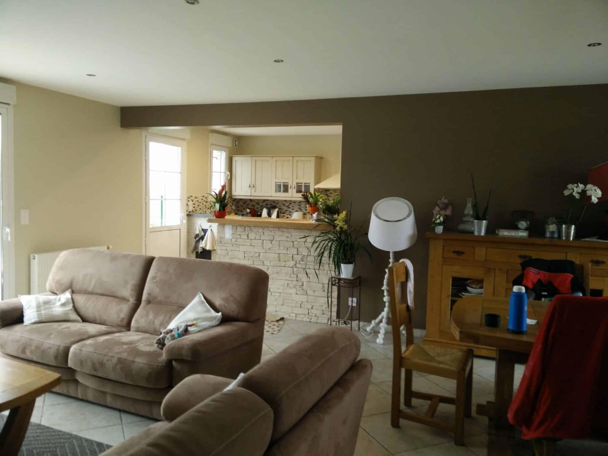 quelques photos peinture salons st ph d co orl ans. Black Bedroom Furniture Sets. Home Design Ideas