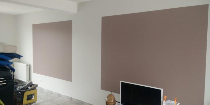 Renovation peinture pour salon par Steph Deco Orleans - 4