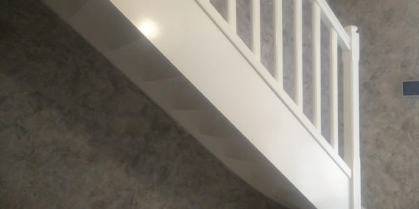 Peinture Escalier Blanc Orléans